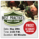 Best Practices Boot Camp Webinar
